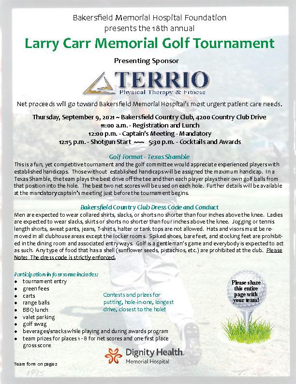 Golf Tournament PDF Image